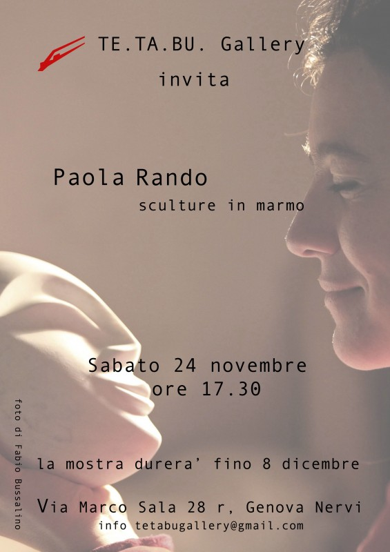 locandina-paola-rando@ tetabu gallery