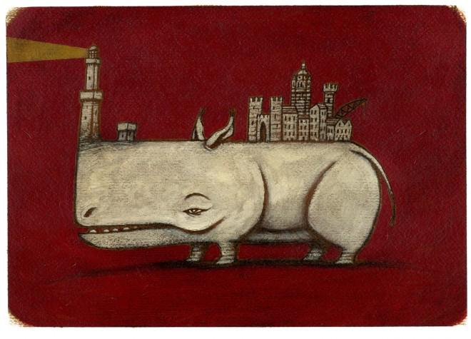 rinoceronte con genova